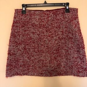 J Crew textured skirt